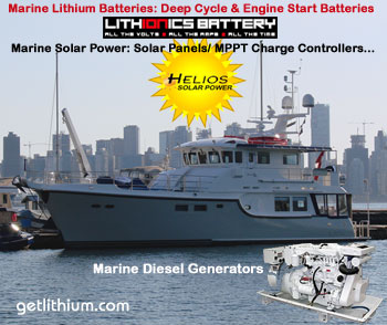Our 12 Volt lithium-ion batteries are ideal for yachts, sailboats, luxury RV motorhomes, heavy machinery and more...