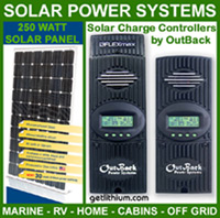 Solar Power System components by Blue Sky Energy, OutBack Power and more including MPPT solar charge controllers, inverter-converter-chargers, e-panels and more...
