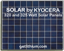 Click here to visit our Kyocera solar panels main page